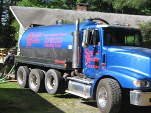 Septic Medic septic tank pumping truck in Bushkill PA Septic Services